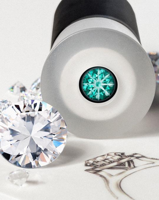 Diamenty Hearts & Arrows - Biżuteria YES