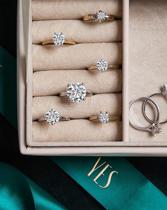 Kolekcje zaręczynowe YES Diamenty Hearts & Arrows