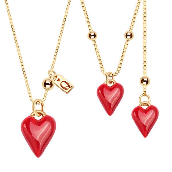 kolekcja-queen-of-hearts-pozlacane-srebro-naszyjniki-z-emalia-z-motywem-serca