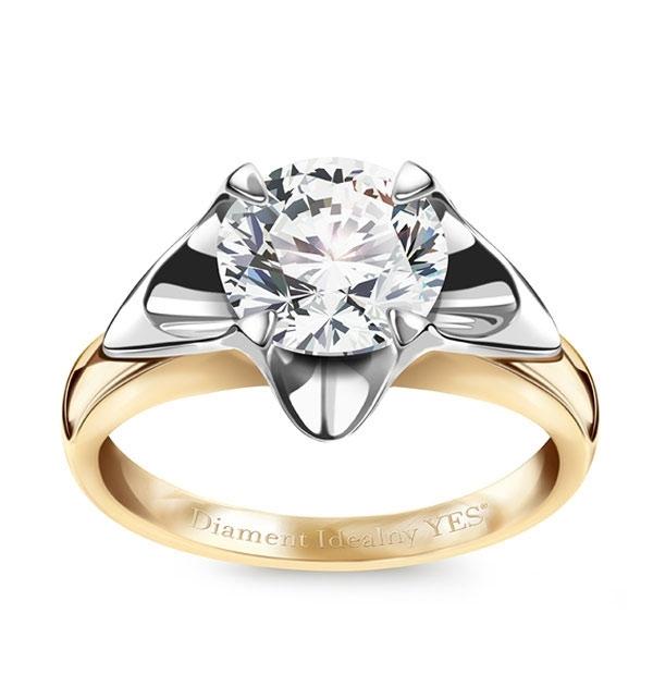 kolekcja-amore-pierscionek-zareczynowy-z-diamentem-Diament-Idealny-YES-blask-inny-niz-wszystkie