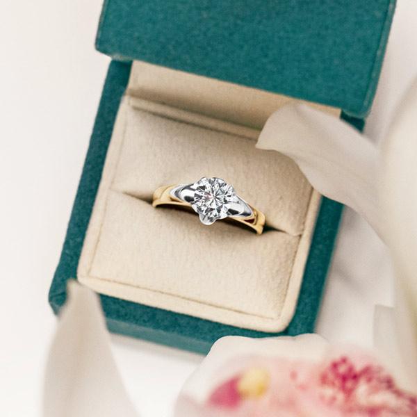 kolekcja-amore-pierscionek-zareczynowy-z-diamentem-zolte-zloto-Diament-Idealny-YES-romantyczna-strona-piekna