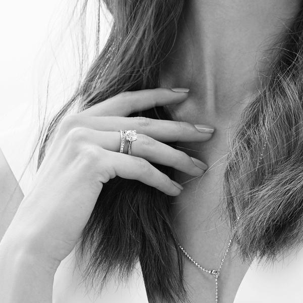 kolekcja-eternel-komplet-pierscionek-zareczynowy-obraczka-Diament-Idealny-YES