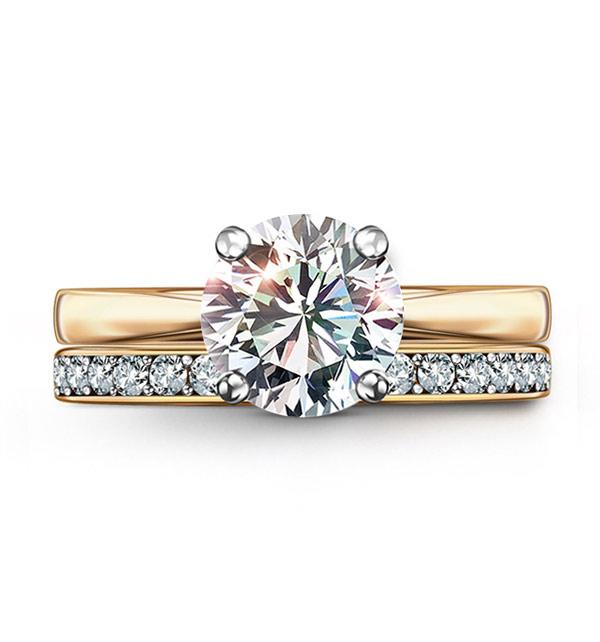 kolekcja-eternel-pierscionek-zareczynowy-z-diamentem-zlota-obraczka-z-diamentami-Diament-Idealny-YES-idealnie-dopasowane