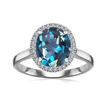 kolekcja-jubile-pierscionek-zareczynowy-biale-zloto-London-blue-topaz-diamenty