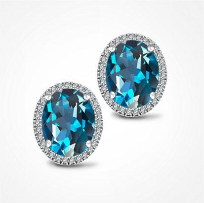 kolekcja-jubile-zlote-kolczyki-London-blue-topaz-diamenty