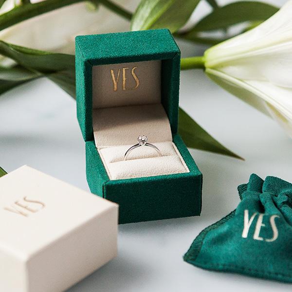 kolekcja-lotos-pierscionek-zareczynowy-z-bialego-zlota-z-diamentem-Diament-Idealny-YES-niezwykly-blask