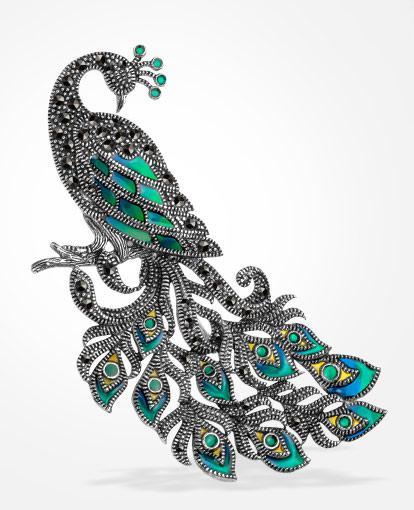kolekcja-markazyty-srebrna-broszka-z-markazytami-klasyczne-piekno-wyjatkowy-charakter
