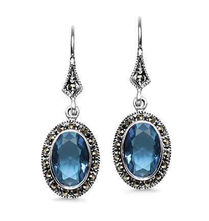 kolekcja-markazyty-srebrne-kolczyki-z-markazytami-krysztaly-blue-topaz
