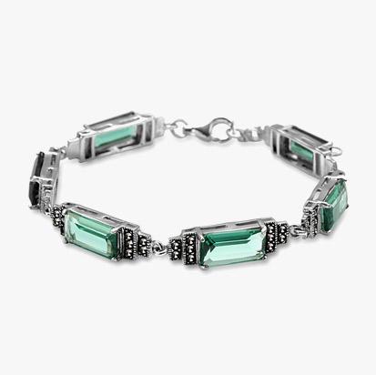 srebrna-bransoletka-z-markazytami-33585