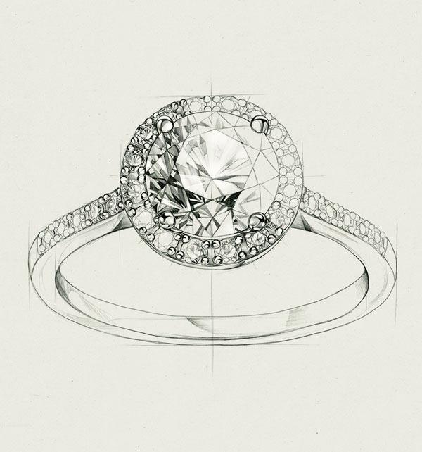 metropolitan-pierscionek-zareczynowy-z-diamentami-Diament-Idealny-YES-szkic