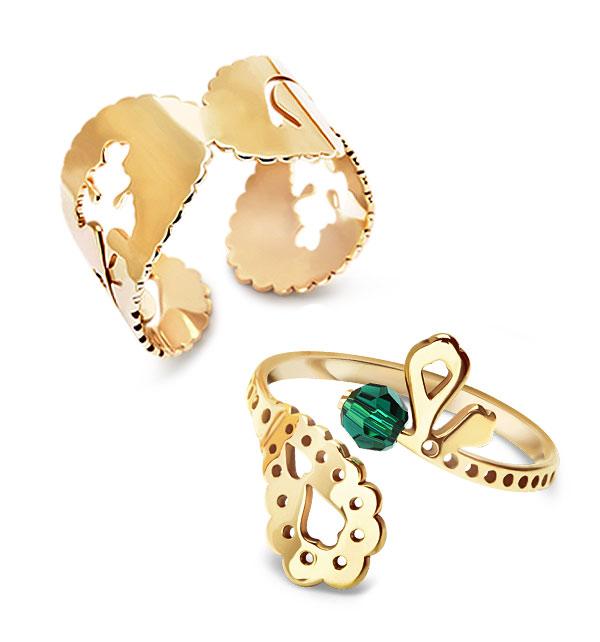 kolekcja-paisley-pierscionek-zolte-zloto-Swarovski-orientalne-motywy-i-symbolika