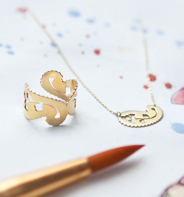 kolekcja-paisley-zolte-zloto-naszyjnik-pierscionek-symbol-nowego-zycia