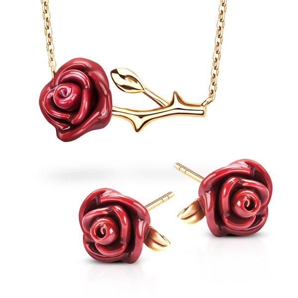 kolekcja-rosarium-pozlacane-srebro-kolczyki-naszyjnik-z-motywem-emaliowanej-czerwonej-rozy-mistyczny-symbol-energii-milosci